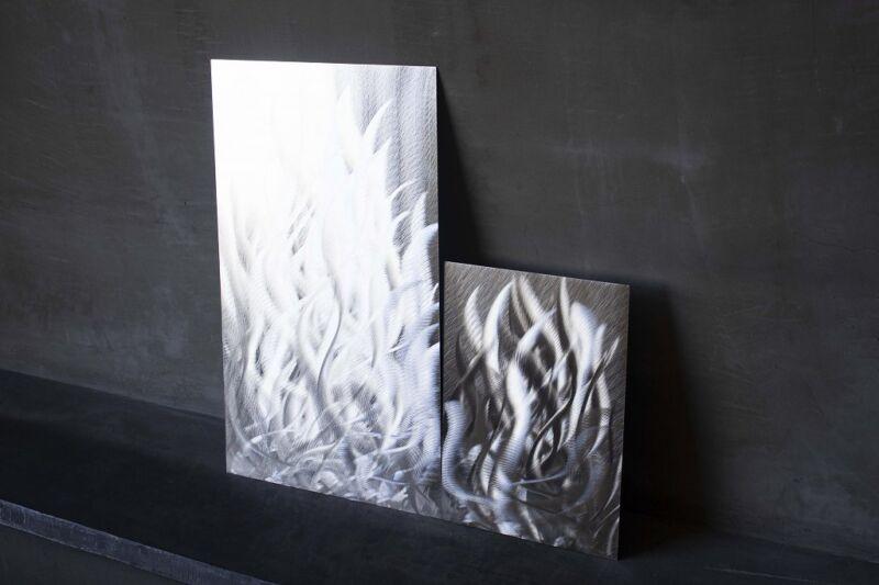アルミニウム、ステンレスアートグラインディング建材